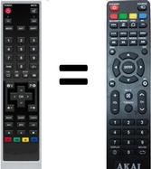Telecomandi per akai banda larga lecce for Telecomando smart tv
